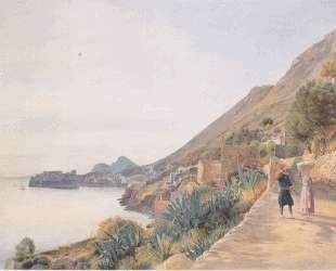 View of Ragusa — Рудольф фон Альт