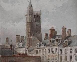 View of the belfry of Orleans — Теодор Руссо