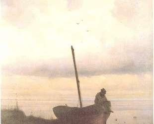 Вид побережья близ Санкт-Петербурга — Иван Айвазовский