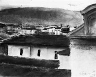 View of the Roofs of Florence — Макс Либерман