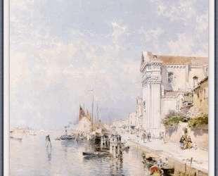 View of the Zatteri Venice — Франц Рихард Унтербергер