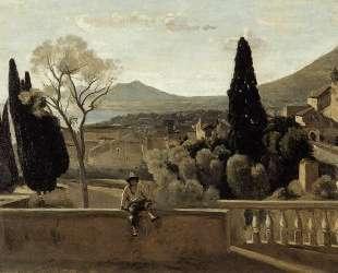 View of Tivoli (after Corot) — Берта Моризо