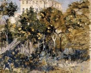 Villa with Orange Trees, Nice — Берта Моризо