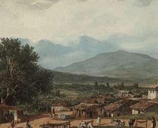 Деревня Сан-Рокко близ города Корфу — Карл Брюллов
