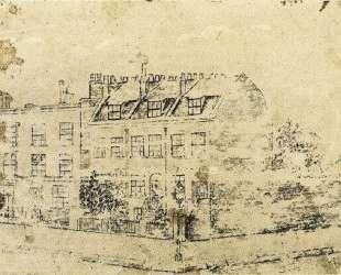 Vincent's Boarding House in Hackford Road, Brixton, London — Винсент Ван Гог
