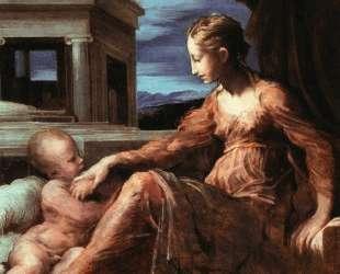 Virgin and Child — Пармиджанино
