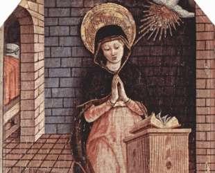 Virgin Annunciation — Карло Кривелли