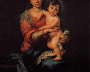 Virgin with Child — Бартоломе Эстебан Мурильо