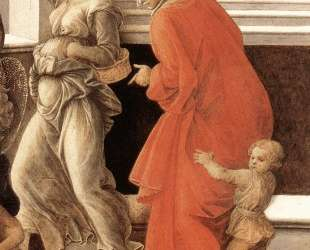 Virgin with the Child and Scenes from the Life of St. Anne (detail) — Филиппо Липпи