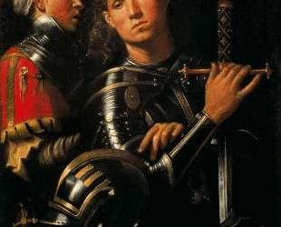 Воин со своим оруженосцем — Джорджоне