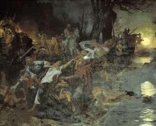 Warriors in the Battle of Silistria — Генрих Семирадский