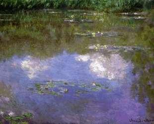 Водяные лилии, облака — Клод Моне