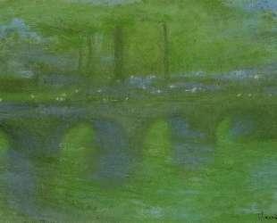 Мост Ватерлоо, рассвет — Клод Моне