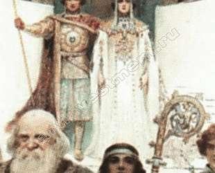 Свадебная церемония. Средние века. — Сергей Соломко