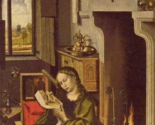 Werl Altarpiece — St. Barbara — Робер Кампен