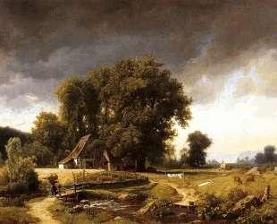 Westphalian Landscape — Альберт Бирштадт
