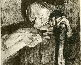 Whetting the Scythe — Кэте Кольвиц