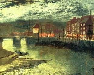 Whitby Docks — Джон Эткинсон Гримшоу
