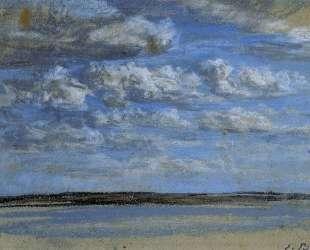 White Clouds, Blue Sky — Эжен Буден