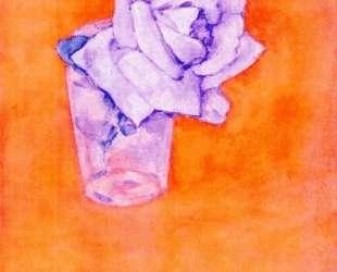 Белая роза в стакане — Пит Мондриан