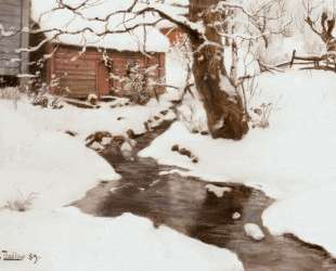Winter on the Isle of Stord — Фриц Таулов