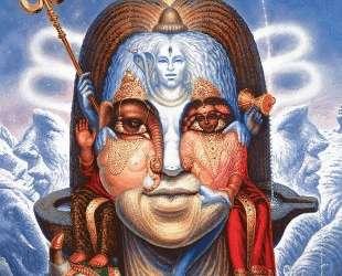 Woman and Mountains Shiva — Октавио Окампо