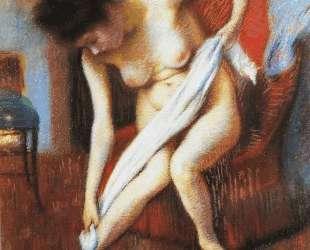 Woman Drying Herself — Федерико Дзандоменеги