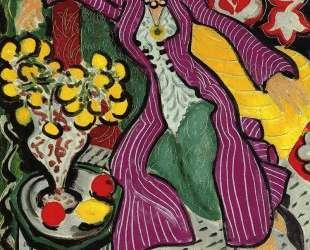 Woman in a Purple Coat — Анри Матисс