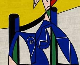 Женщина в инвалидном кресле — Рой Лихтенштейн
