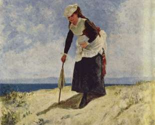 Woman on the Beach — Джузеппе Де Ниттис
