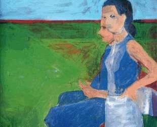 Woman Outside — Ричард Дибенкорн