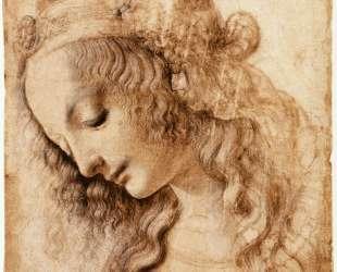 Woman's Head — Леонардо да Винчи
