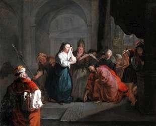 Woman Taken in Adultery — Габриель Метсю