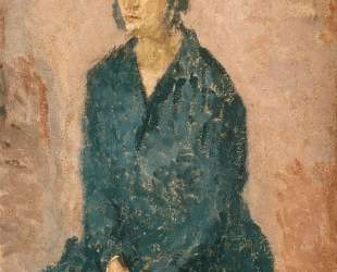 Woman with Hands Crossed — Гвен Джон