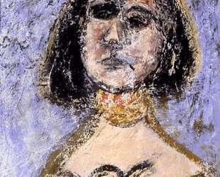 Женщина с ожерельем — Аршил Горки