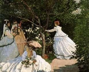 Женщины в саду — Клод Моне