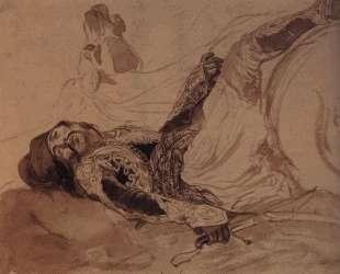 Раненый грек, упавший с лошади — Карл Брюллов