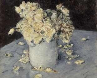 Yellow Roses in a Vase — Гюстав Кайботт