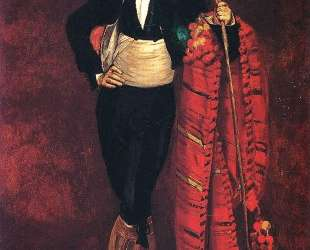 Young man in the costume of a majo — Эдуард Мане