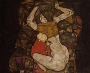 Young Mother — Эгон Шиле