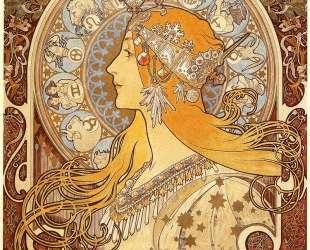 Zodiac — Альфонс Муха