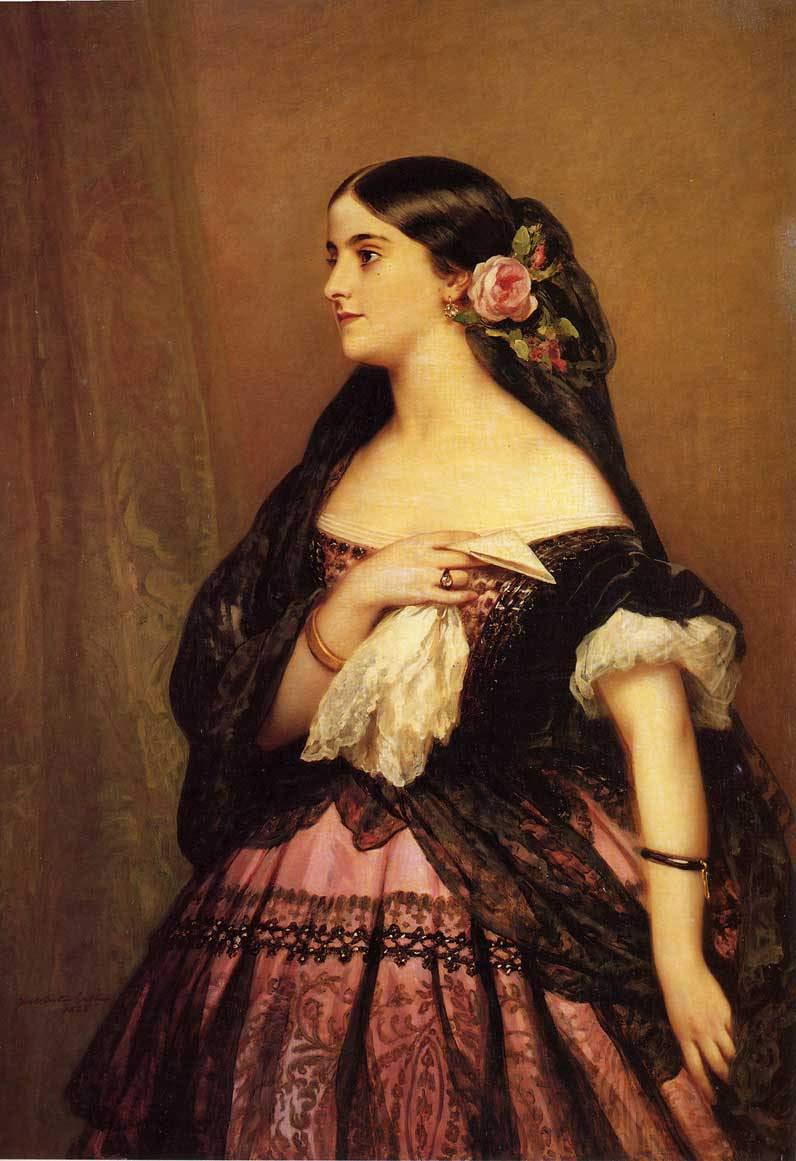 Франц Ксавер Винтерхальтер (1805–1873) немецкий живописец-портретист.