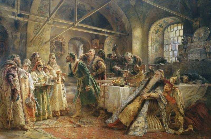 Жанр исполнения: историческая живопись