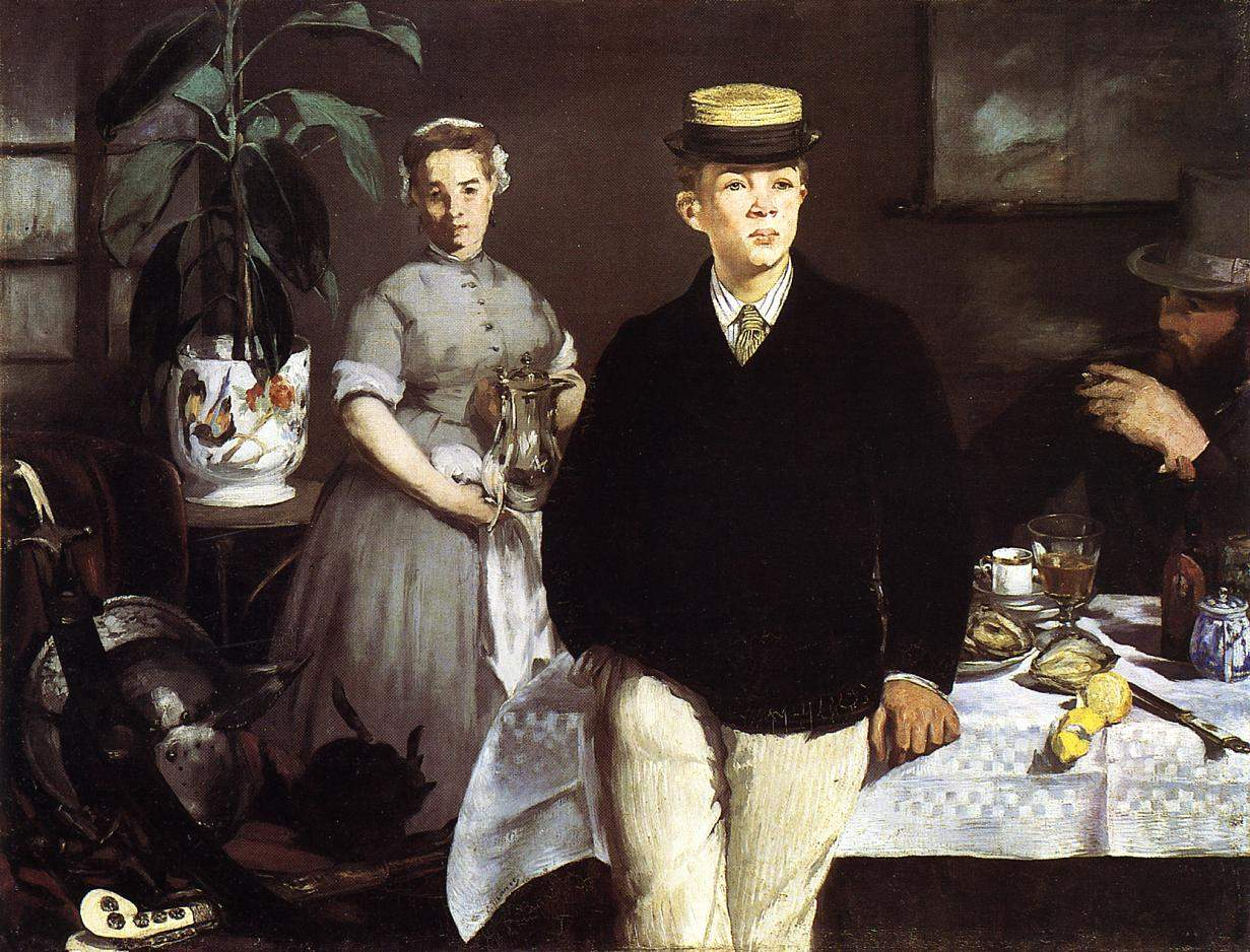 the luncheon analysis The final luncheon of the boating party canvas is 51-inches by 68-inches, large enough to entice the viewer into the scene what makes luncheon of the boating party such a masterpiece is the way it portrays a snapshot of time that was purely renoir's mental vision.