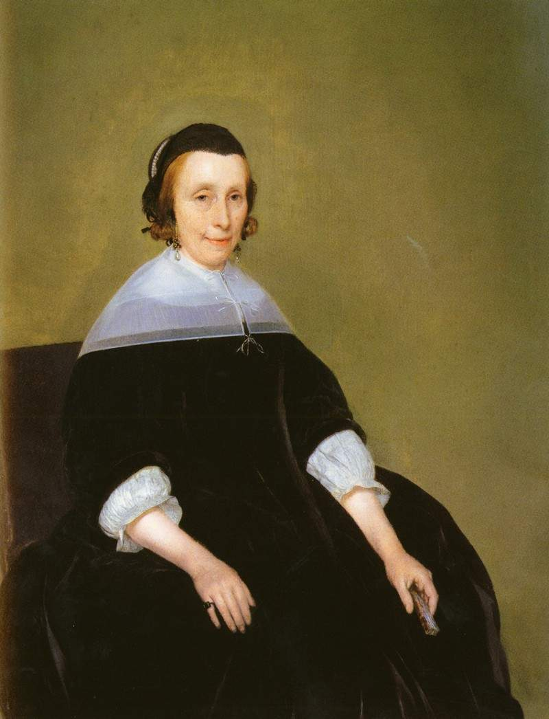 Portrait of a Lady — Франц Ксавер Винтерхальтер