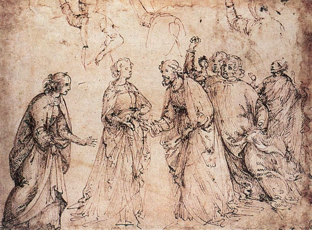 Рисунки художников эпохи возрождения