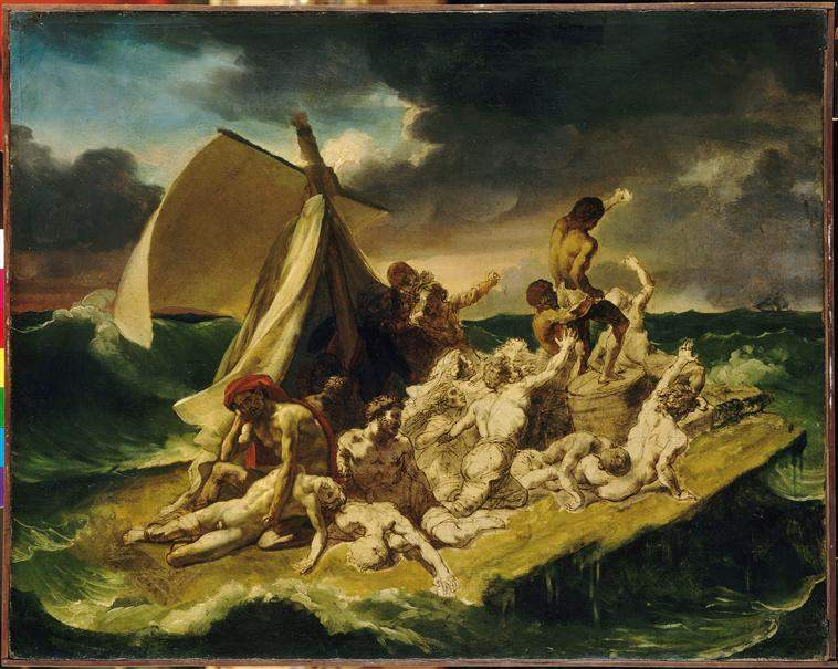The Raft of the Medusa  Louvre Museum  Paris