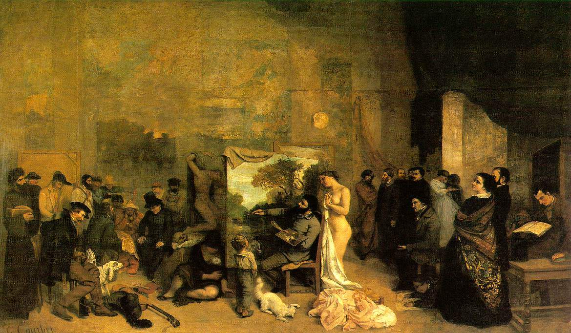the five paintings by gustave courbet in the philadelphia museum
