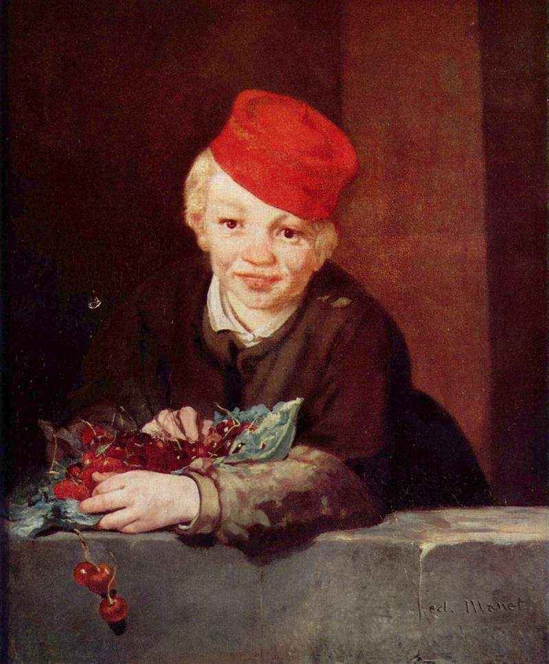 The Boy with Cherries — Эдуард Мане
