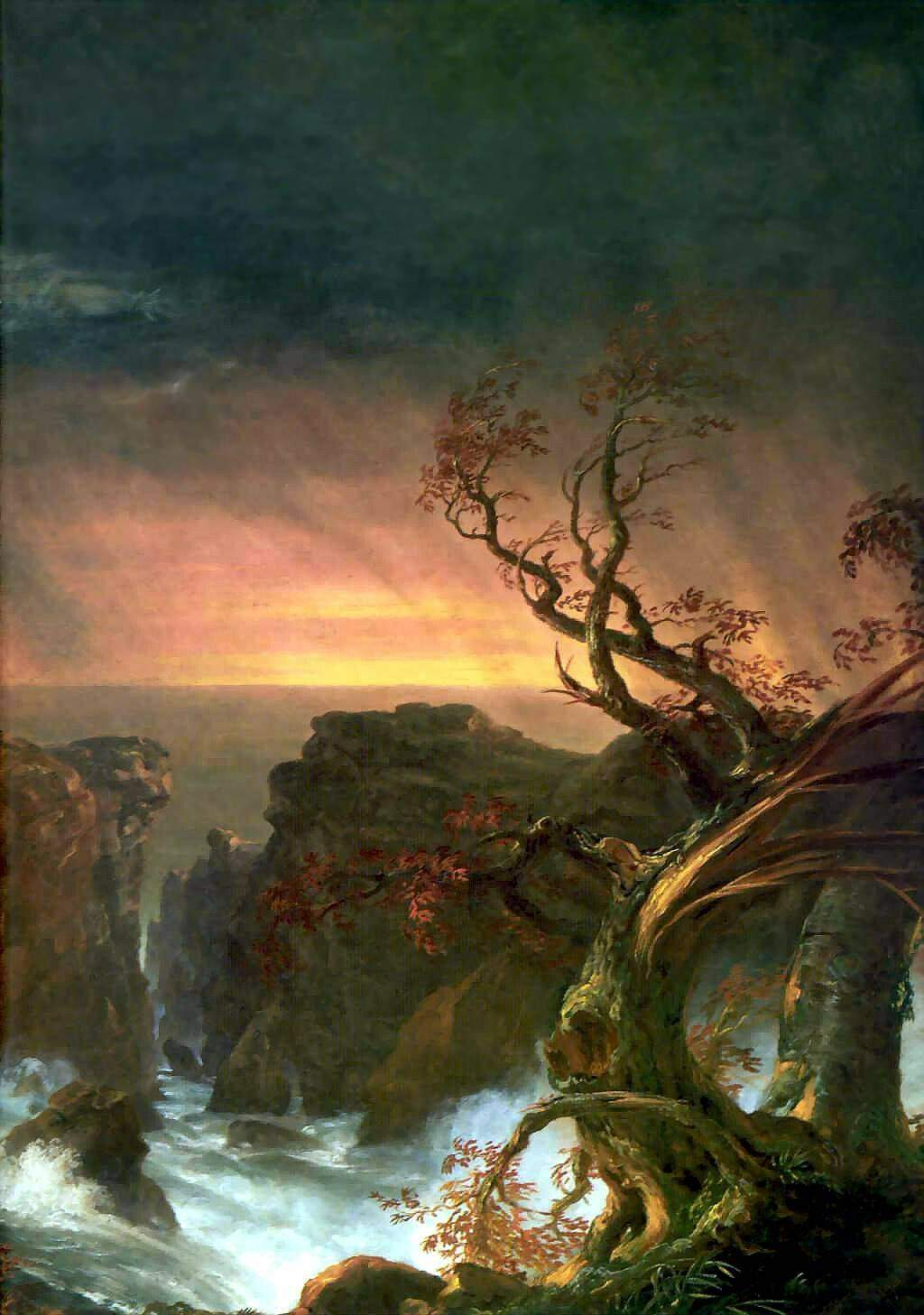 the life and painting works of american landscape painter thomas cole The english-born american painter thomas cole (1801-1848) is famous for establishing the hudson river school, an art movement dedicated to romantic landscape painting, that flourished in the middle of the 19th century.